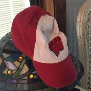 Wisconsin Badgers Fitted Hat